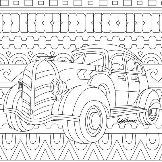 Pin de Barbara en coloring means of transport | Pinterest | Colorear ...
