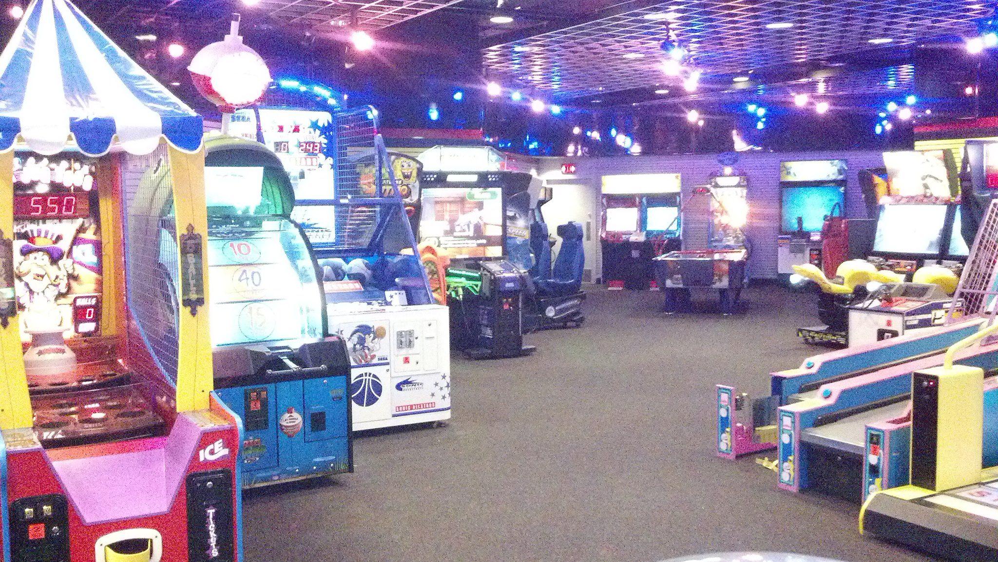 Fun N Games Arcade 540 721 5959 Arcade Located At Two Locations Chesterfield Towne Center Mall In Between Garden Ridge Smith Mountain Lake Garden Ridge Arcade