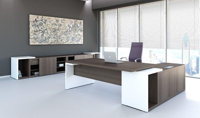 Modern Executive Office Desk Bath Home Decor Decoracion De