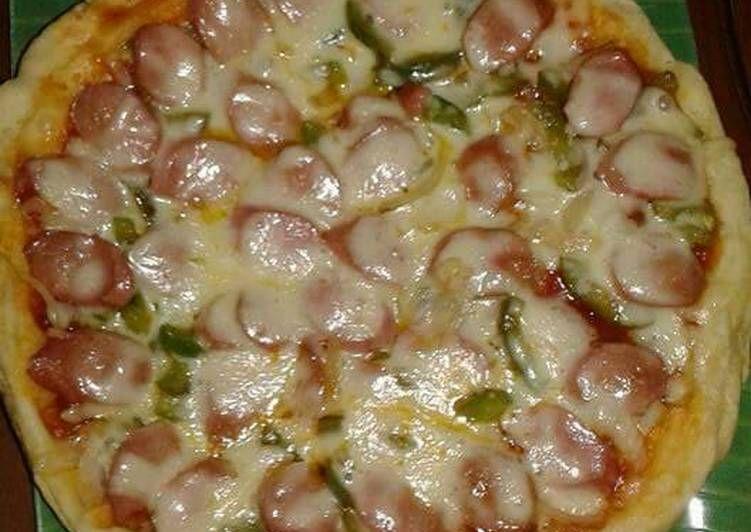 Resep Pan Pizza Empuk Oleh Febri Yanz Resep Resep Pizza Makanan