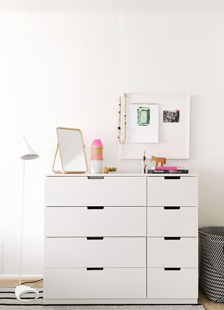 ikea bedroom makeover interior inspiration schlafzimmer kommode haus. Black Bedroom Furniture Sets. Home Design Ideas