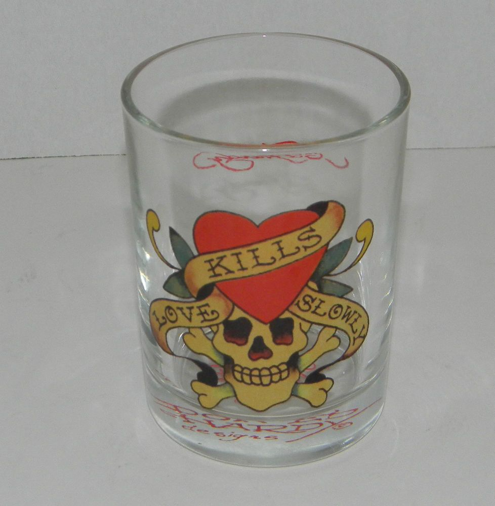 Collectible Gles Cups Mugs Ebay Ed Hardy