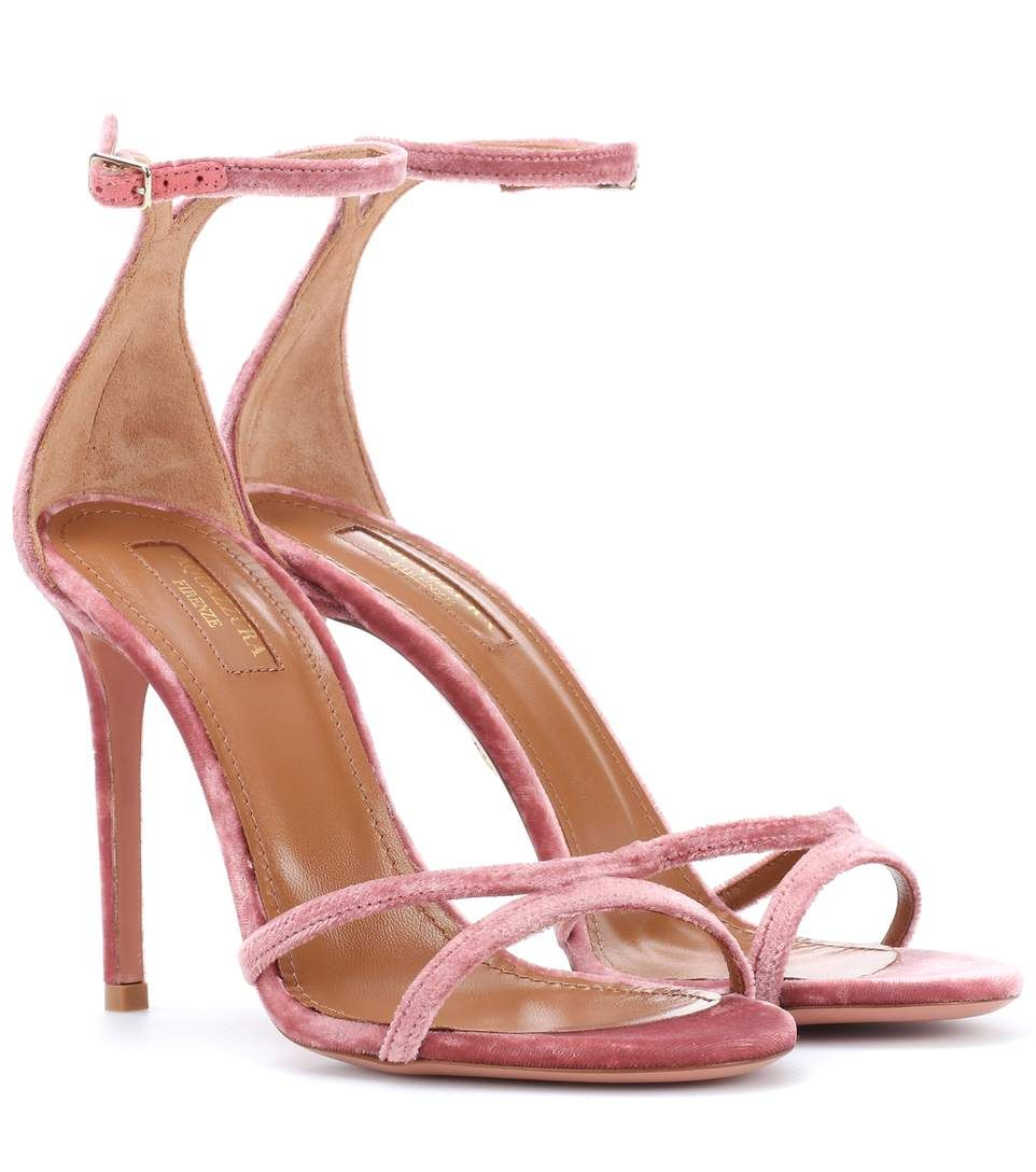 Aquazzura Purist 105 glitter sandals sale Manchester store cheap price visit new online outlet for nice CUHU3M