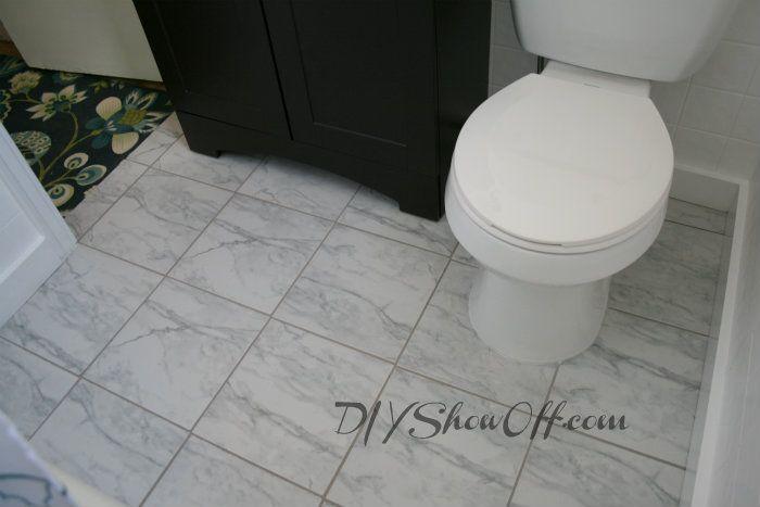 Carrara Marble Subway Tile Bathroom Home Depot Floor And A Little Sneak K