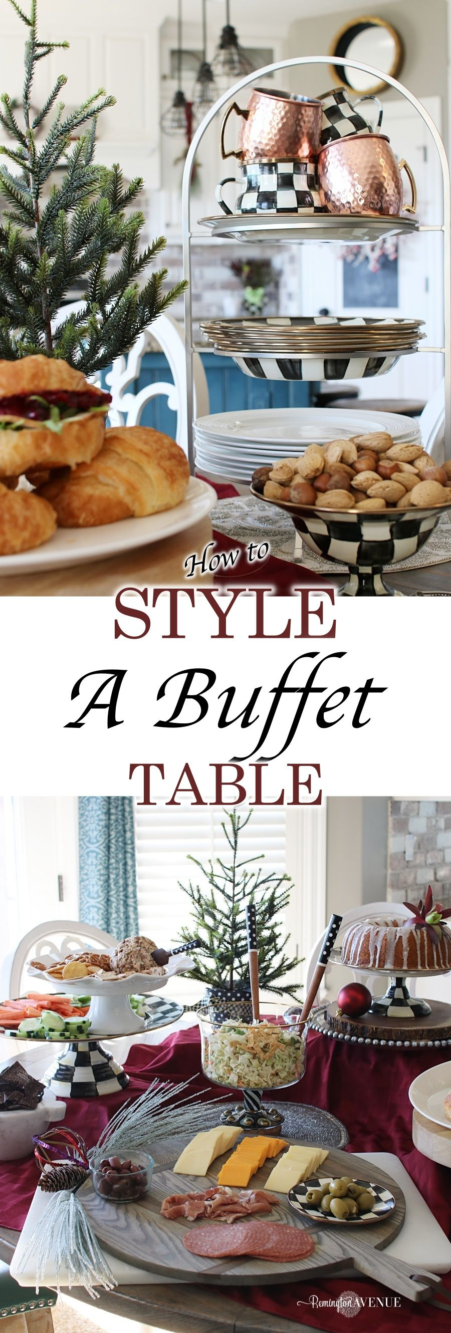 Tips For Organizing And Styling A Buffet Table Best Home Decor
