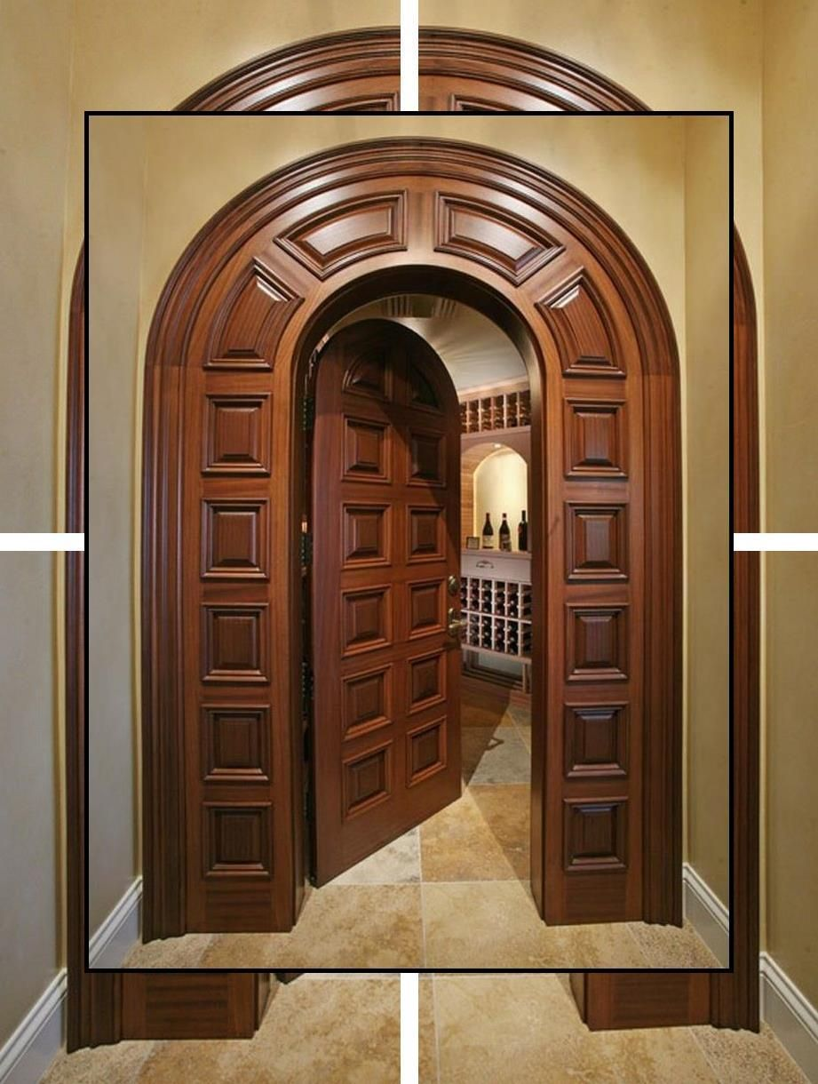 Internal Double Doors | Solid French Doors | All Wood ...