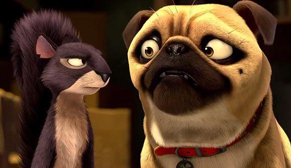 The Nut Job Movie Review Pugs Kisses Cute Pugs Pug Love