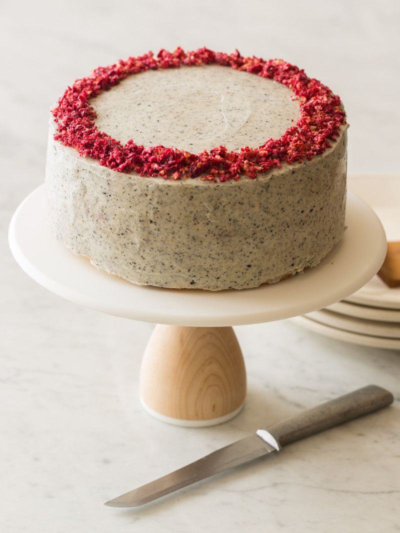 Strawberry and Elderflower Curd Layer Cake | TasteSpotting
