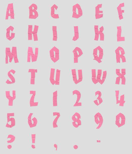 New Release By Handmadefont Via Behance Typography Alphabet