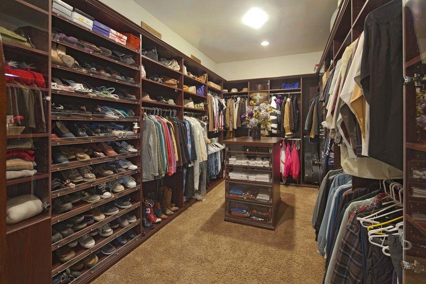 Großer begehbarer Kleiderschrank für Männer   25 Luxus Begehbarer ...