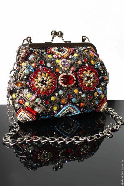 1ab20326d5a5 Женские сумки ручной работы. Ярмарка Мастеров - ручная работа. Купить  Сумочка, вышитая сумка, клатч, этно-стиль, вечерняя сумочка. Handmade.