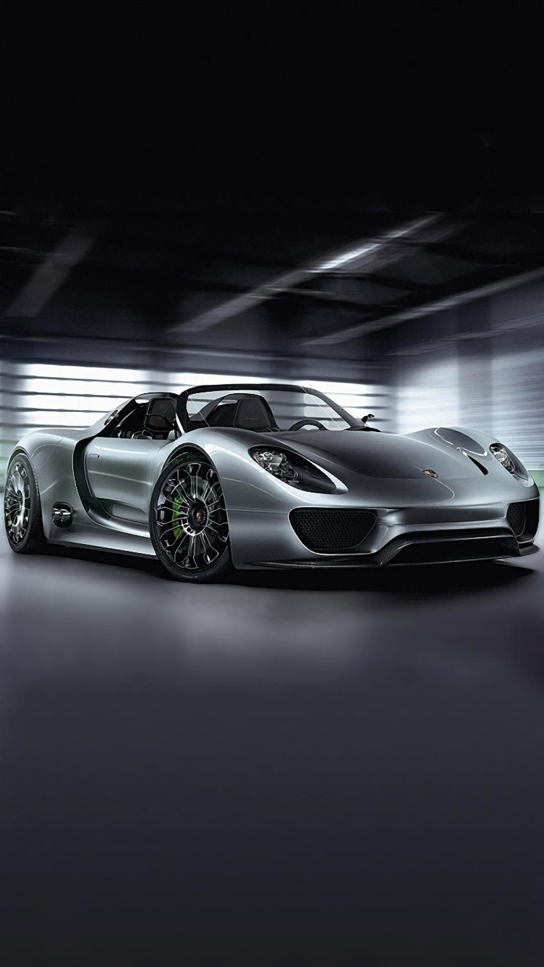 Silver Quenalbertini Iphone Wallpaper Iphone 6 Retina Wallpaper Electric Sports Car Porsche 918 Porsche Cars