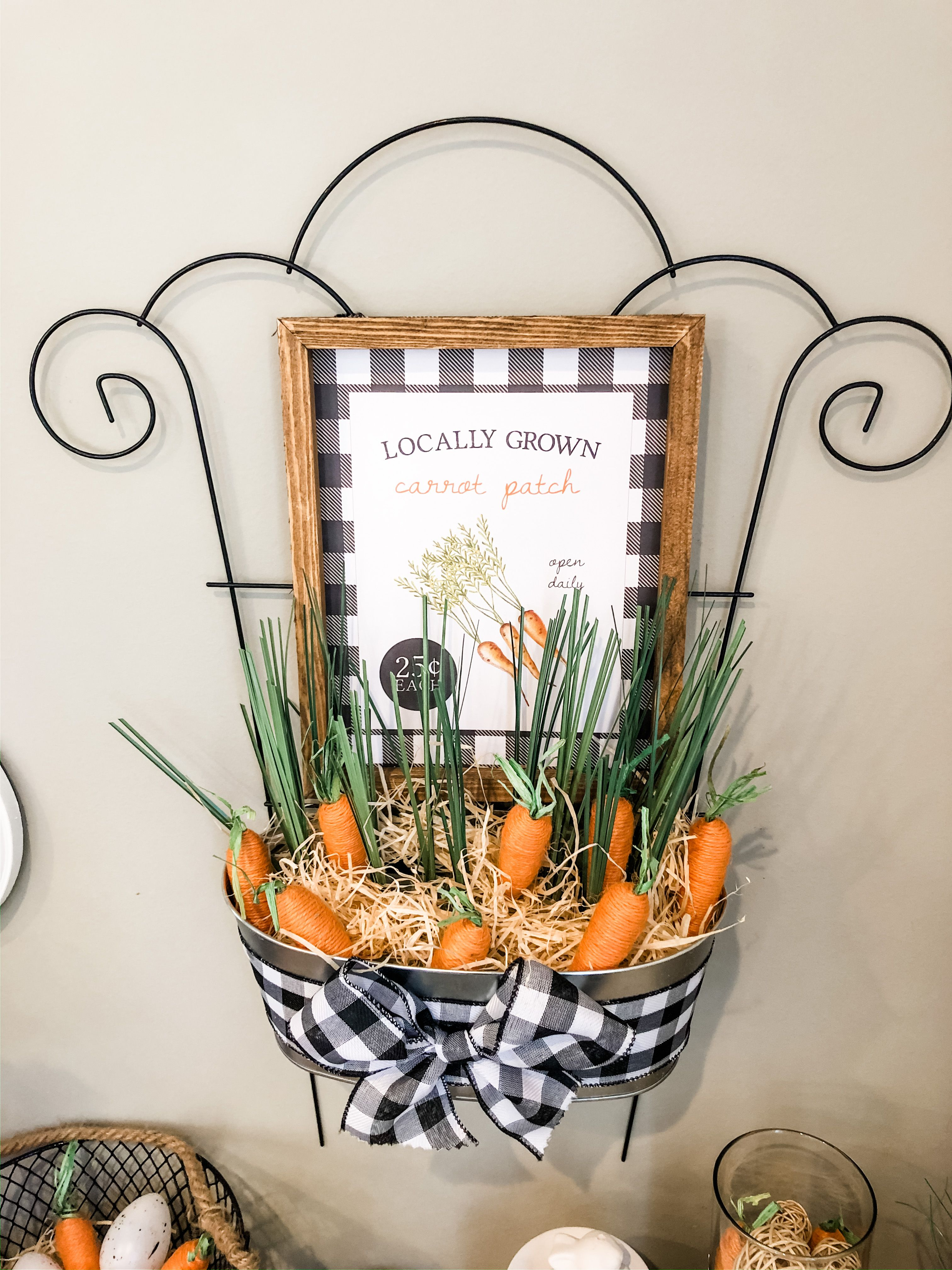 Farmhouse Easter Decor DIY