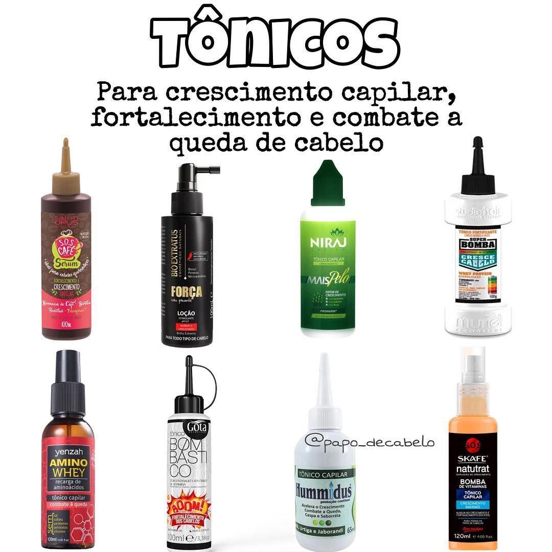 Tonicos Para Crescimento Capilar Fortalecer As Madeixas E
