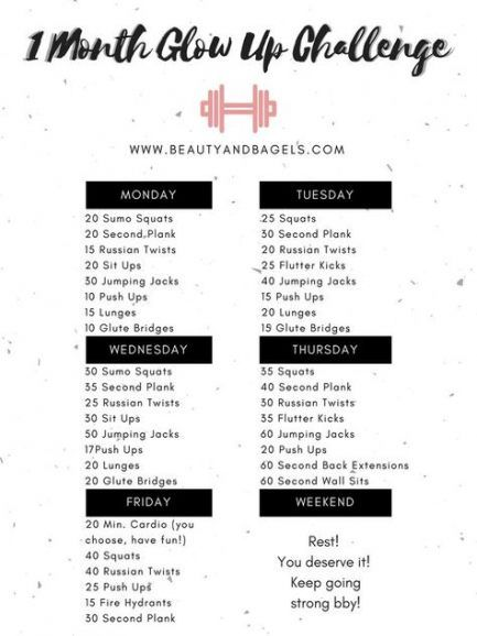 Fitness Goals Monthly 28+ Ideas #fitness