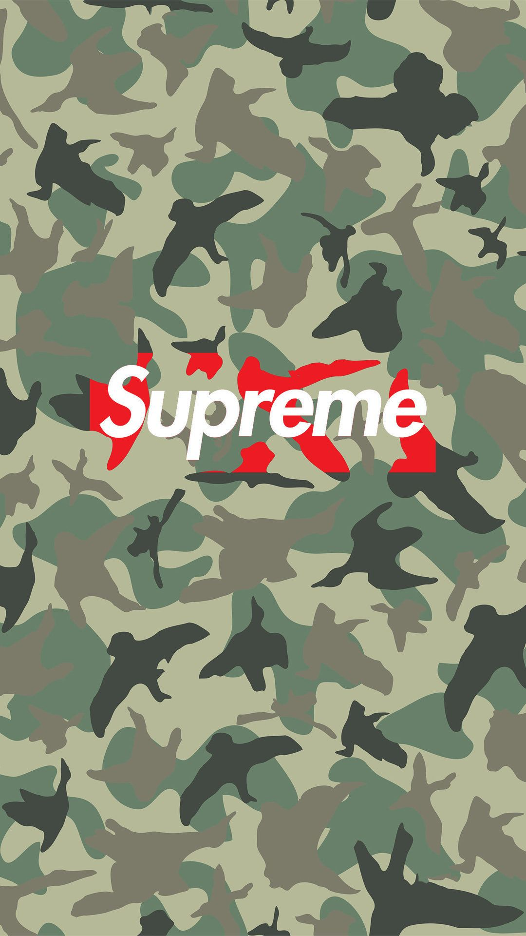 Supreme Camo Tap To See More Of The Supreme Wallpapers