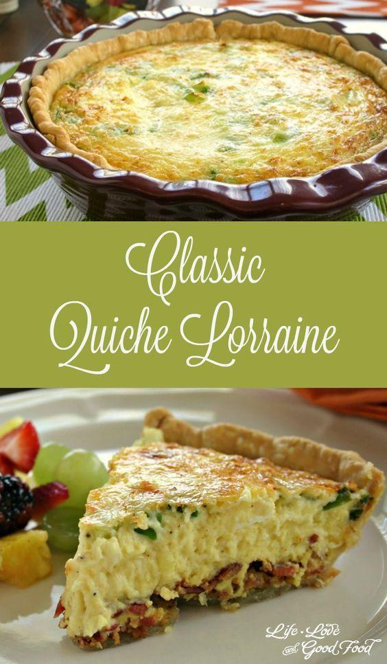 Classic quiche lorraine recipe breakfast ideas group board classic quiche lorraine life love and good food forumfinder Image collections