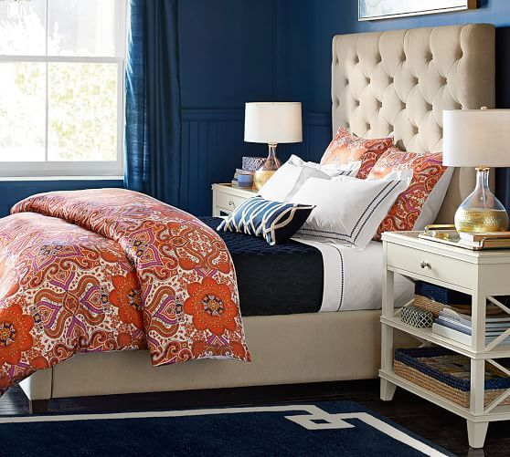 Jess Silk Scarf Duvet Cover Amp Sham Cheap Bed Sheets Bed