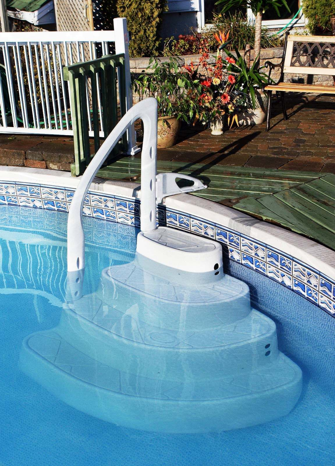 26+ Collections of Above Ground Pool Ladder Installation