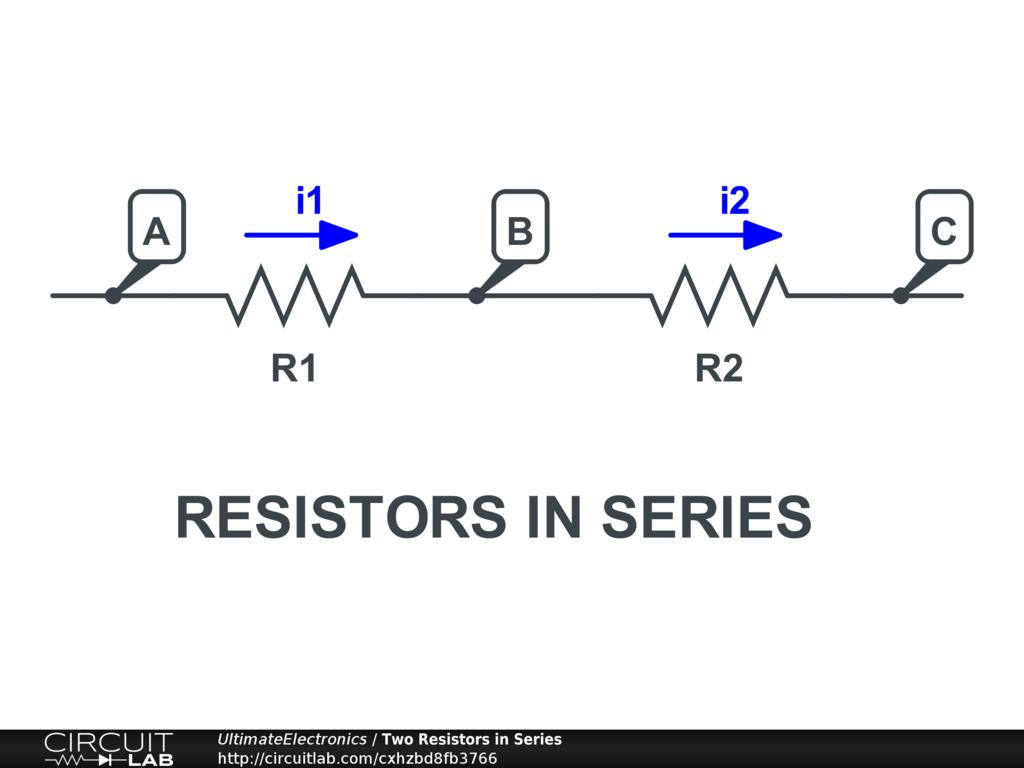 Resistors In Series Parallel In 2020 Series Parallel Resistors Electronic Books