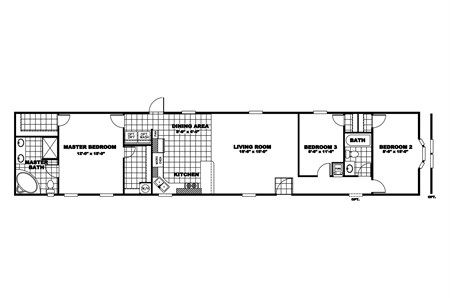 Skinny House Ideas Minus Extra Bedrooms House Floor Plans Unique House Plans Manufactured Homes Floor Plans