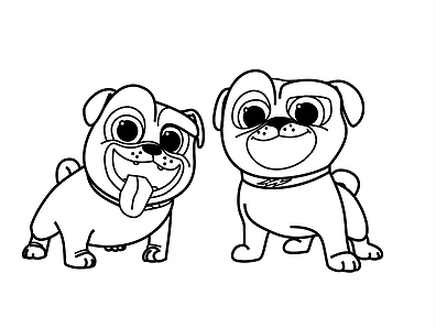 Free Printable Puppy Dog Pals Disney Junior Coloring Pages Puppy Coloring Pages Toy Story Coloring Pages Barbie Coloring Pages