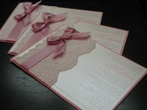 Laced invitation by gail