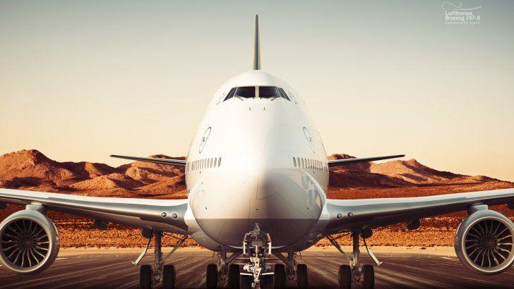 Boeing 747-8 Lufthansa Hanseatic Airlines
