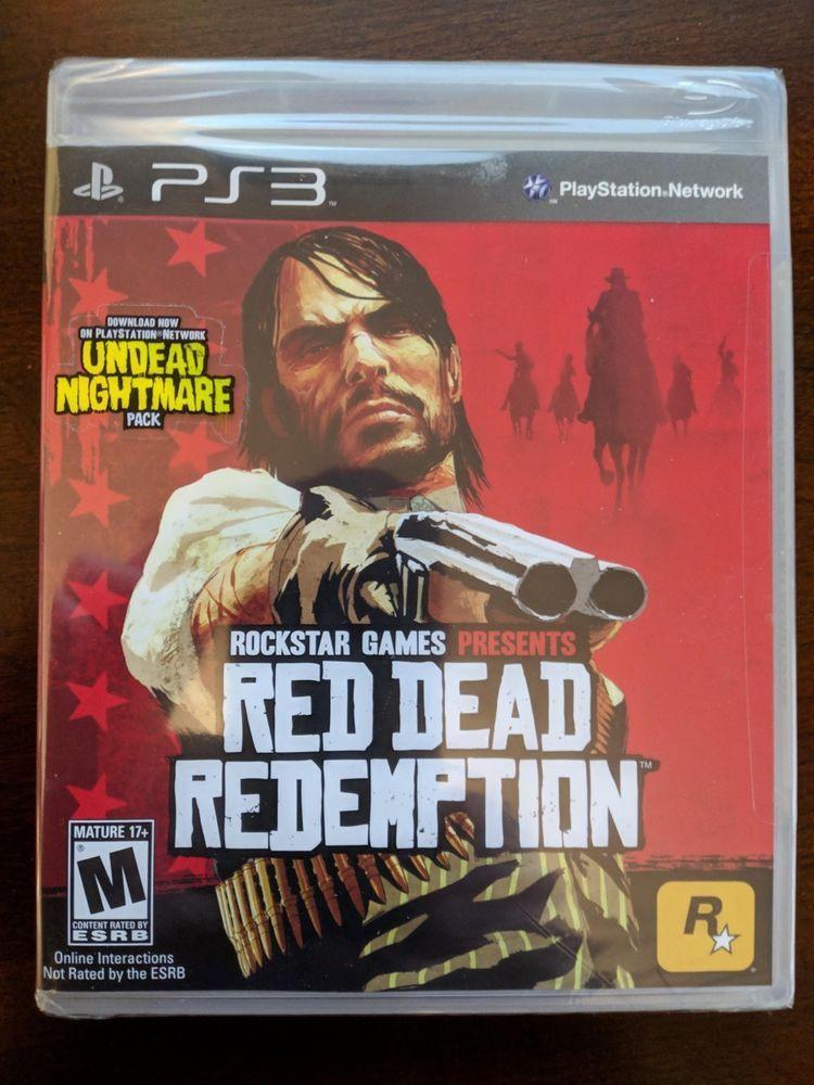 Red Dead Redemption Playstation 3 Ps3 Original Black Label