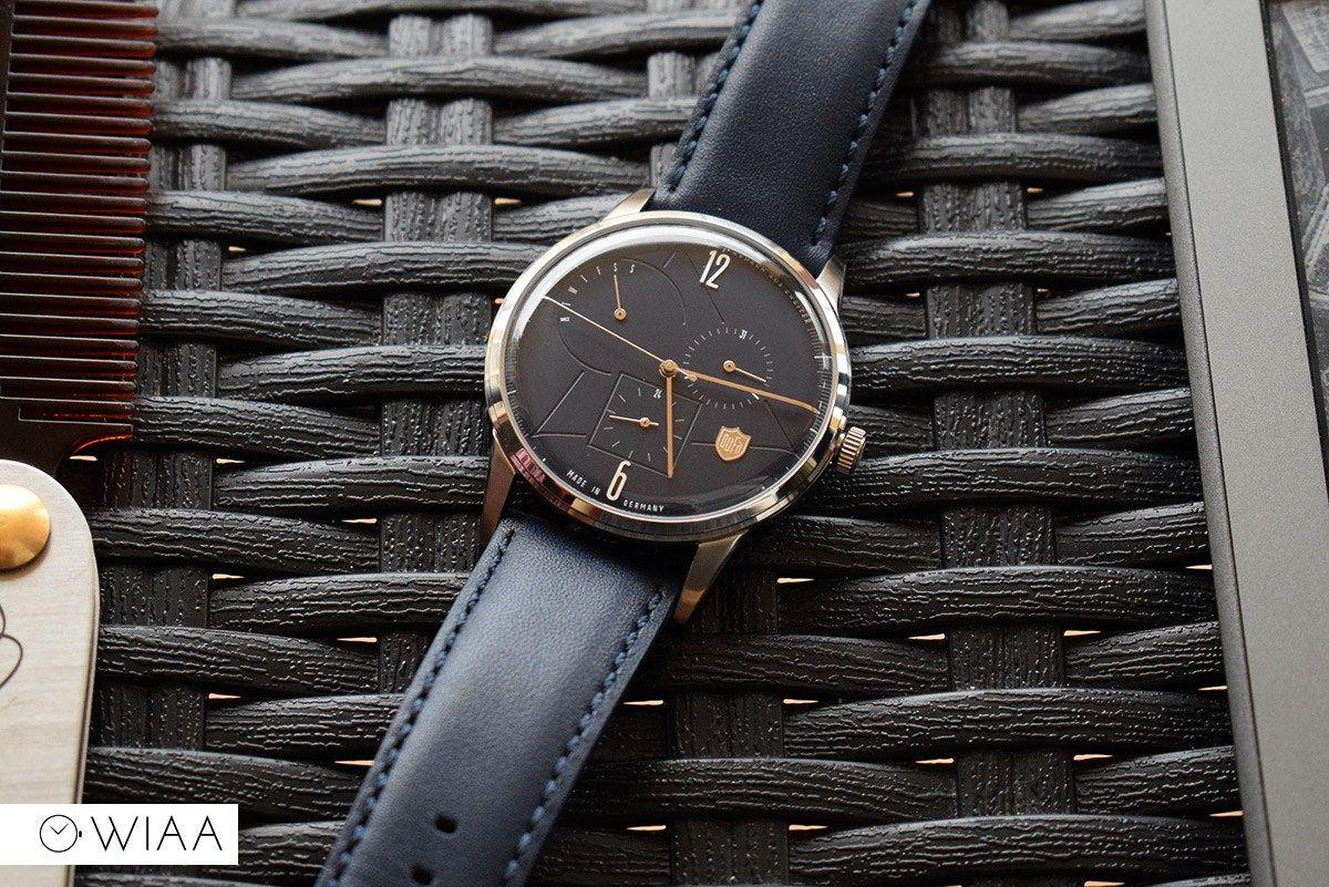 Https Www Watchitallabout Com Deutsche Uhrenfabrik Dufa Weimar Calendar Bauhaus Df 9019 03 Watch Review Weimar Bauhaus Design Leather Watch