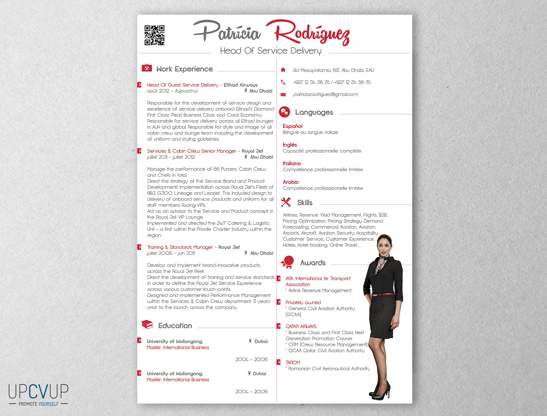 pin by upcvup on cabin crew    flight attendant r u00e9sum u00e9 templates - cv word