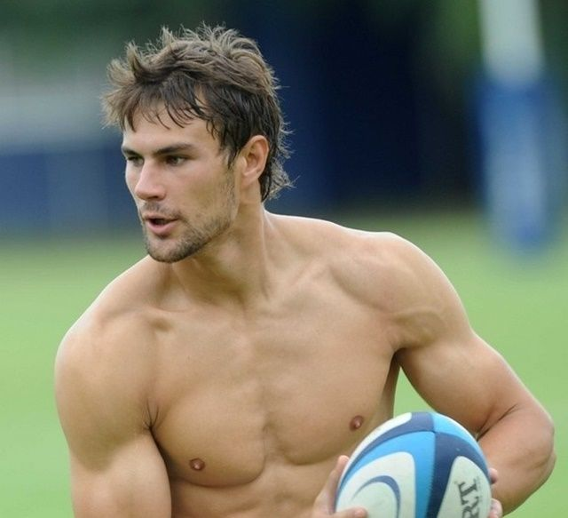 Green Rugby Player: Jan Serfontein, South African Rugby Player