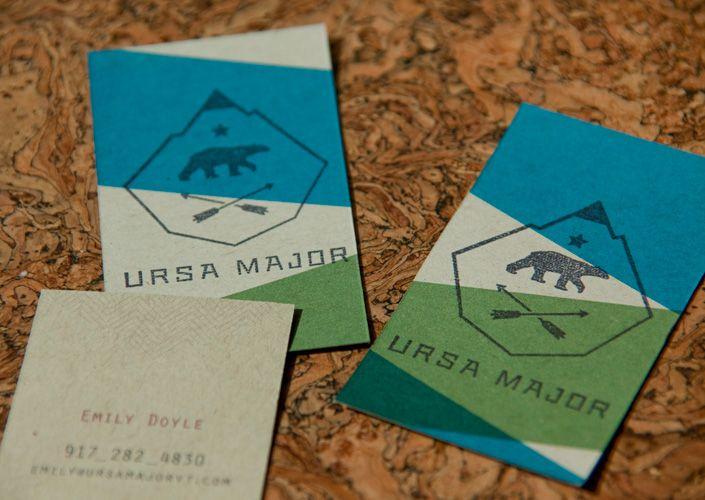 Ursa Major Business Card