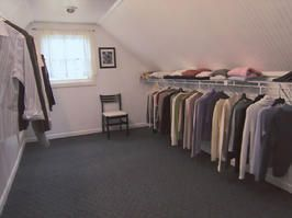 Turn An Unfinished Attic Into A Walk In Closet Attic Master Bedroom Attic Closet Walk In Closet