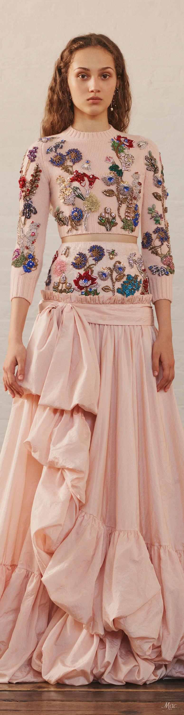 Resort 2018 Alexander McQueen | Moda | Pinterest | Vestido de gala ...