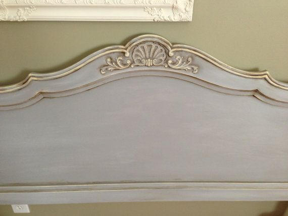Hand Painted with Annie Sloan Paris Grey by RedeemedFinds on Etsy, $475.00