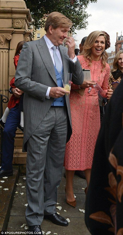 King Williem Alexander and Queen Maxima in London 2017
