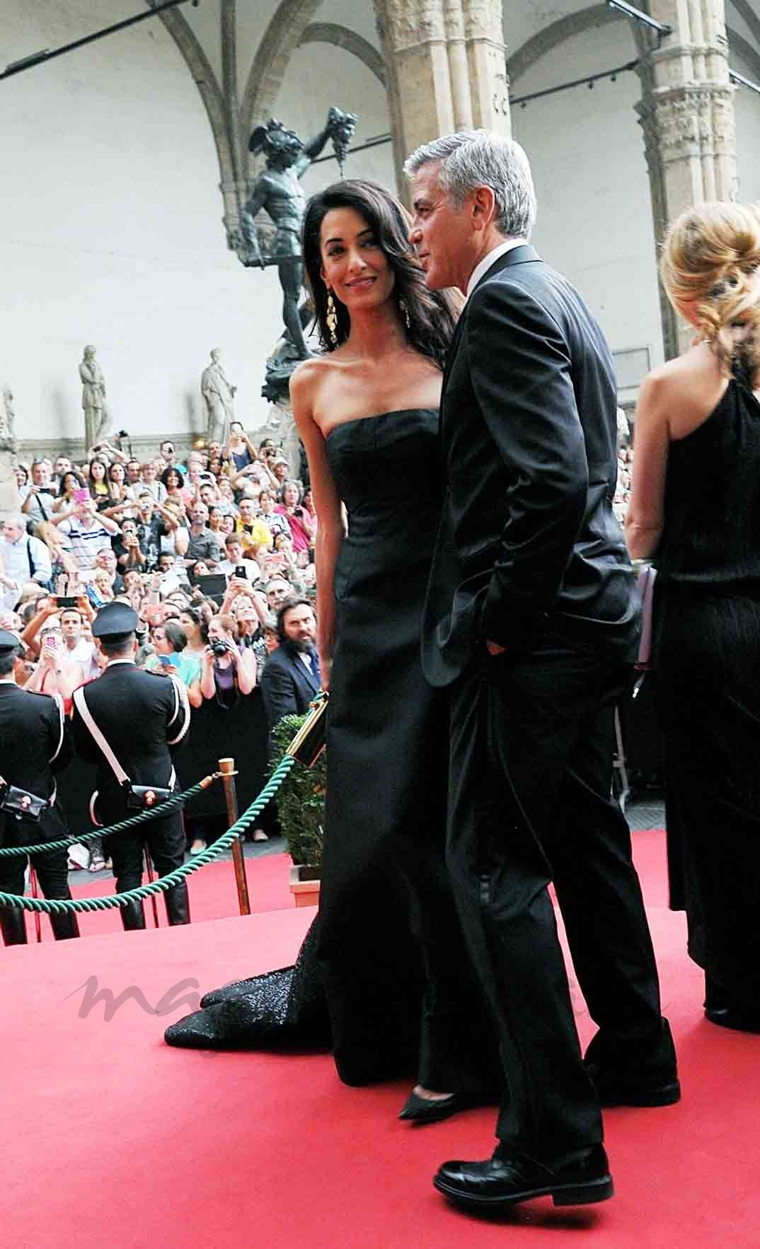 george cloone y amal alamuddin georges clooney et amal pinterest george clooney amal. Black Bedroom Furniture Sets. Home Design Ideas