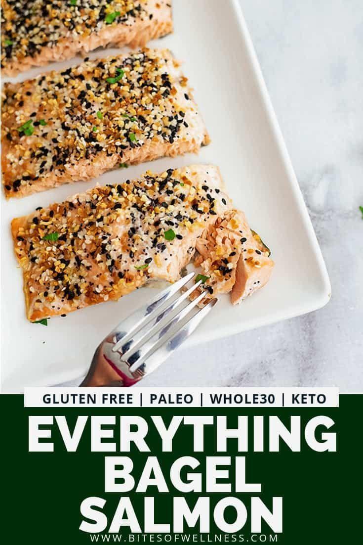 Everything Bagel Salmon #healthyweeknightmeals