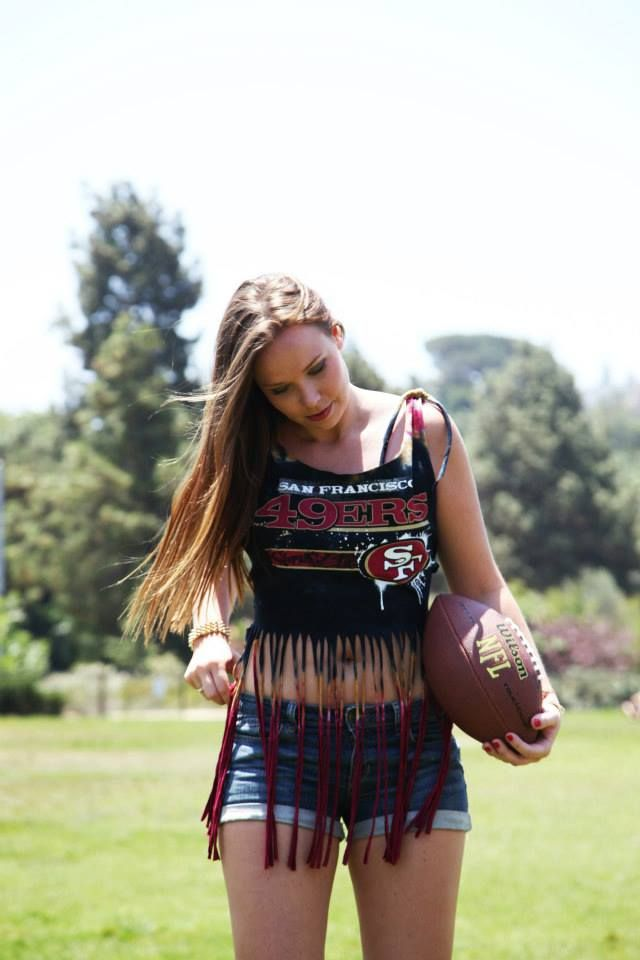 df1521f7b46 49ers  NFL  sexy women s clothing  FemmeFanCouture