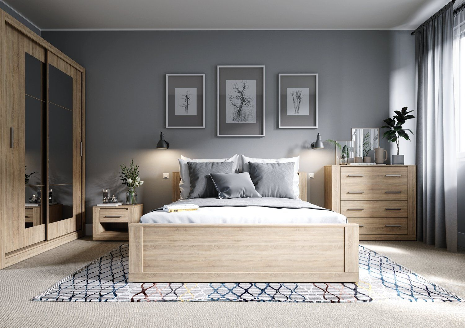 The Stylish Simple Design Is The Perfect Storage Solution For Your Modern Home Requirements Bedroom Interior Bedroom Design Home Decor Bedroom