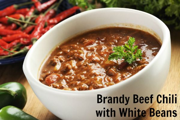Brandy Beef Chili With White Beans Cooking With Spirit Plantoparty Elimination Diet Recipes Slow Cooker Chili Burrito Soup Recipe