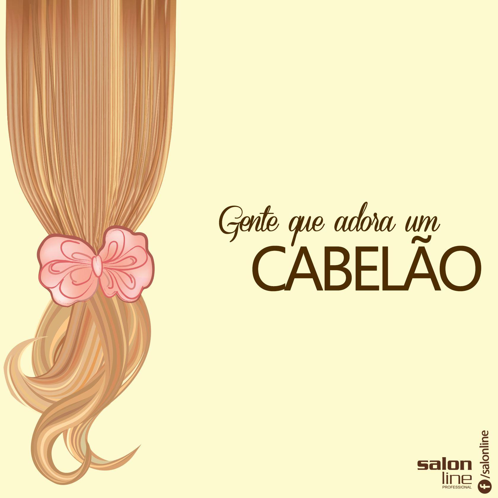 Quem você conhece de cabelão?