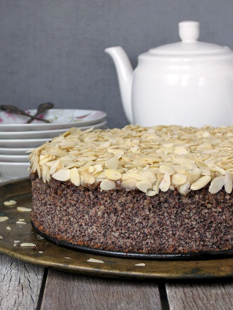 Almond Poppy Seed Cake Recipe Poppy Seed Cake Seed Cake Food