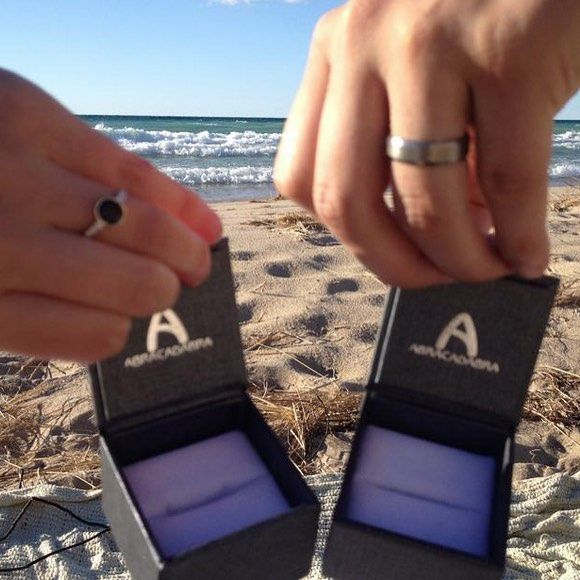We simply adore when our couples share their magical moments with us & we love, love, LOVE this #AbraStory!!! Read their DOUBLE proposal story on our blog here: http://abrajewelry.tumblr.com/post/131689757640/we-simply-adore-when-couples-share-their-magical#notes  #AbraCouple #AbraJewelry #engagementstory #AbraHappyCustomers #puremichigan #love