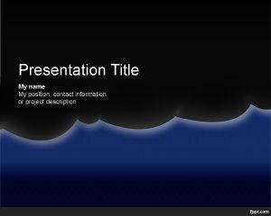 Night Powerpoint Template Free Powerpoint Templates Powerpoint Templates Simple Powerpoint Templates Powerpoint Template Free