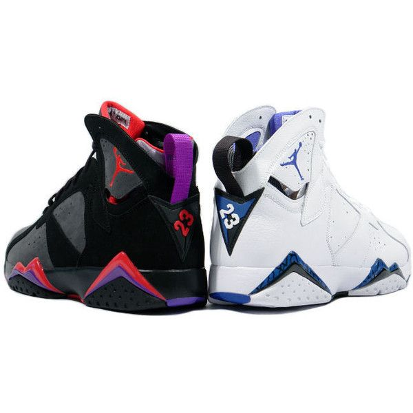 Kixclusive - Air Jordan 7 Retro DMP (Raptors - Magic) found on Polyvore