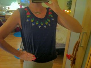 DIY Aztec- Shirt