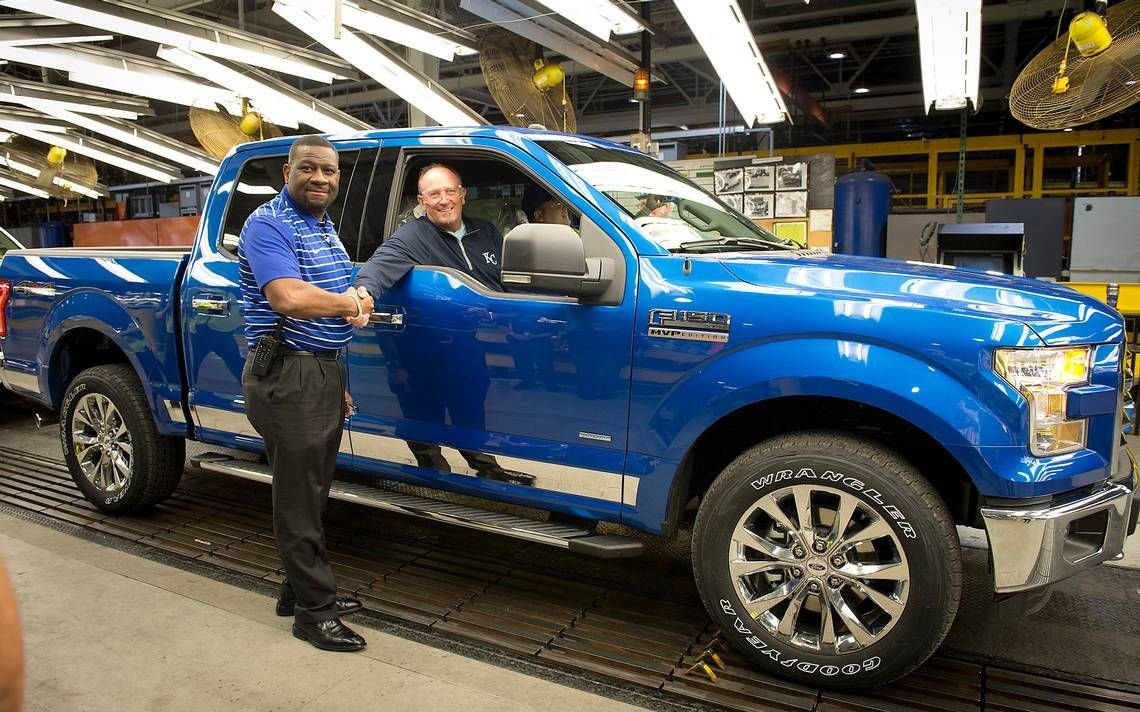 Ford Truck Honors Royals World Series Win Ford Truck Ford