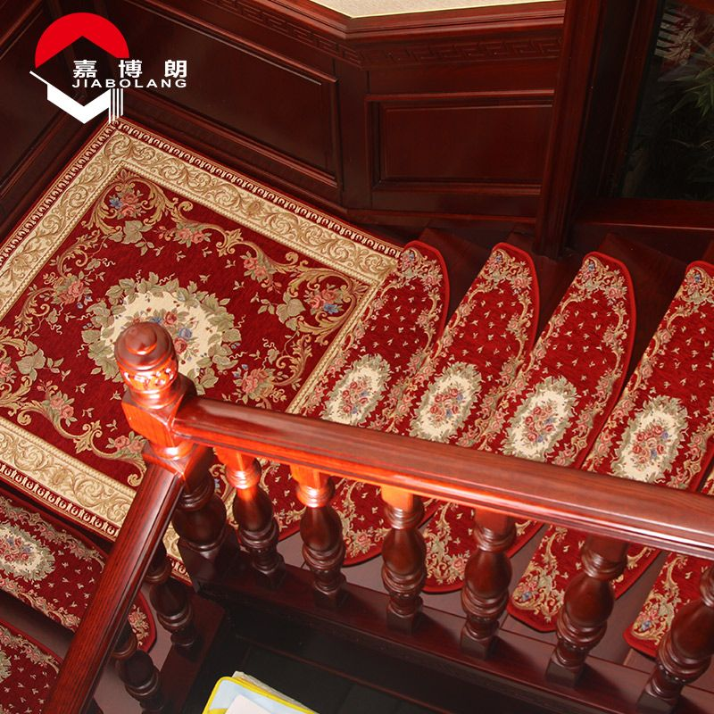 Best Jiabolang Style 059 Stair Carpet Europe Embroidered Anti 400 x 300